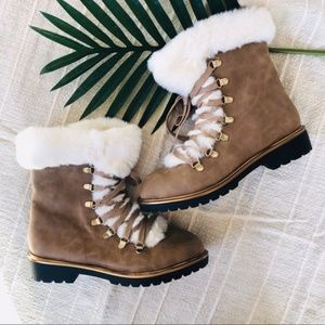 A New Day   Faux Fur Boots